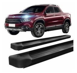 Título do anúncio: Estribo Fiat Toro Plataforma De Alumínio Preto ou prata