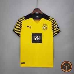 Título do anúncio: Camisa Borussia Dortmund Home 21-22