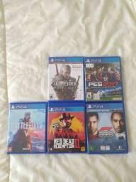 5 JOGOS DE PS4 TOP