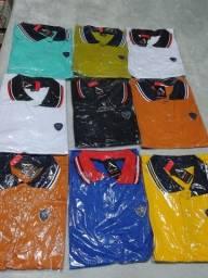 Título do anúncio: Camisas Pólo 100% algodão na malha 30.1