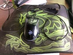 Título do anúncio: Mouse+mouse pad, Nexus GT 300