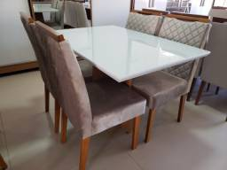 Título do anúncio: Mesa de Jantar Ana 120x80 - 4 Cadeiras