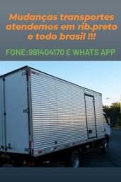 Certa transportes e mudanças para todo Brasil