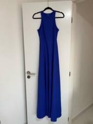 Título do anúncio: Vestido festa azul royal novo