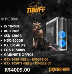 PC Gamer i5 10400F -Rx 550 - ssd 120