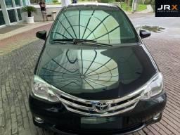 Título do anúncio: Toyota etios 14 platinum 1.5 top 47.000 km raridade