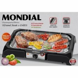 Churrasqueira Elétrica Mondial Grand Steak & Gril II 220v