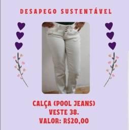 Título do anúncio: calça tam 38 - R$ 20,00