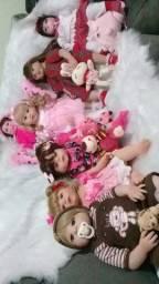 Título do anúncio: Boneca bebê Reborn presente dia das crianças últimas unidades