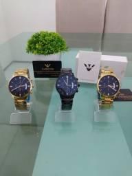 Título do anúncio: Relógio Nibosi 2309, moderno e luxuoso, marca conceituada no Brasil