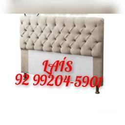 Título do anúncio: Cabeceira de cama móvel casal capitonê