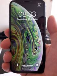 Iphone XS 256Gb - Novíssimo - 4 meses de garantia - Película gratis instalada.