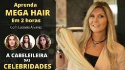 Título do anúncio: Curso de Mega Hair de Fita Adesiva