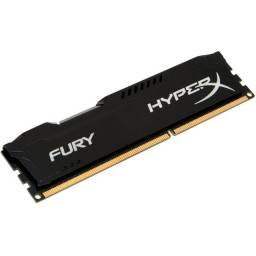 Título do anúncio: Memória HyperX Fury, 4GB, 1333MHz, DDR3, CL9, Preto - HX313C9FB/4