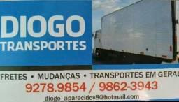Título do anúncio: Mudanças frete caminhão baú