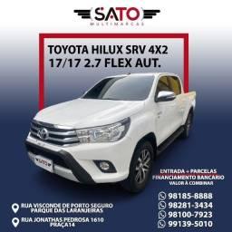 Título do anúncio: Toyota Hilux SRV 17/17 2.7 Flex Aut.