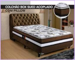 Oferta da Semana - ColchãoBox Casal 9cm Espuma - Só R$449,00