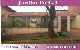 Casa com 2 suítes, Jd. Paris I