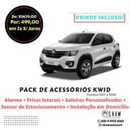 Pack de Acessórios Renault Kwid