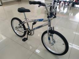 Bicicleta aro 20 Cross Cromada - NOVA -
