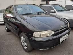 Fiat Palio Preto 1.0 - Financie Facil Alex - 2001