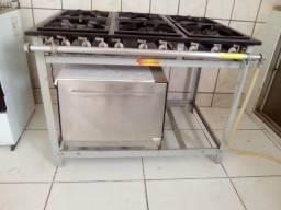 Fogão industrial Venâncio com forno
