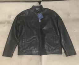 Jaquetas de couro masculina e feminina
