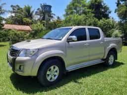 Toyota Hilux CD 4x4 Intercooler SRV Diesel 2013/13 Completa - 2013