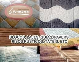 Vendo fábrica de blocos, lajes, pavers, artefatos, pisos e revestimentos de cimento