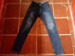 Calça jeans menino tamanho 14