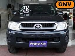 Toyota Hilux SR 2.7 Automático Completo com GNV 5ª Geração *Banco de Couro* - 2010