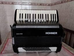 Acordeon Hohner bravo ||| 80 baixos Alemã