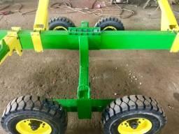 Carreta plataforma milho/soja