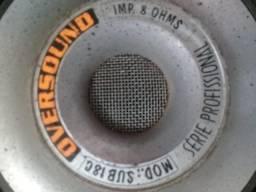 Auto falantes Dois auto- falantes Oversound 400W RMS