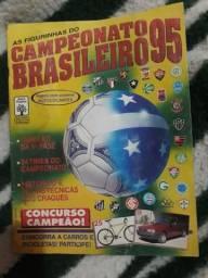 Álbum campeonato brasileiro 1995 completo