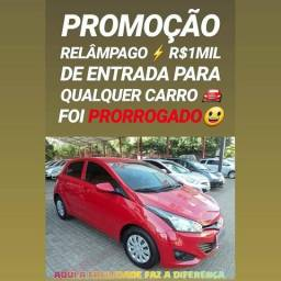 Só TOP NA SHOWROOM! R$1MIL DE ENTRADA(HB20 1.6 2016)