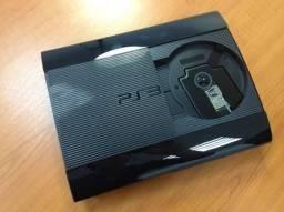 PS3 Super Slim + 11 Jogos