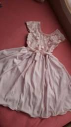 Vestido Infantil De Festa Tamanho 16 Feminino