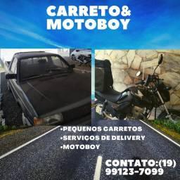 Carretos e motoboy