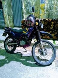 Honda NX200 / 200cc moto de ir para o serviço despreocupado - 1998