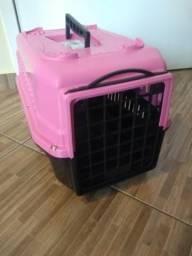 Casinha de transportar cachorro de porte pequeno