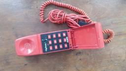 Aparelho Telefone fixo cor: Vermelho