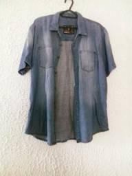 Camisa jeans Retrô Venda ou troca