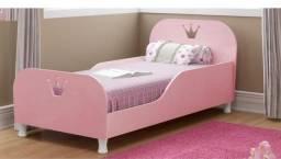 Mini cama rosa