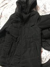 Vendo jaqueta preta semi novo tamanho p