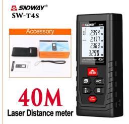 Trena Laser nova sndway 40 metros com m2 e m3 nova com estojo nova aceitamos cartão