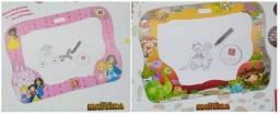Lousa Infantil De Mão P/ Carro Portátil Dinossauro Princesas