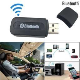 Receptor Bluetooth Adaptador P2 Audio Usb Carro Musica comprar usado  São José do Rio Preto