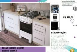 Oferta Fogão Miller Fratello C/ 4bocas