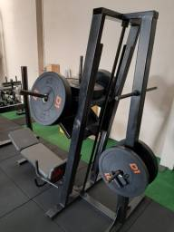 Legpress 80° / Maquina Biceps/ Supino Inclinado